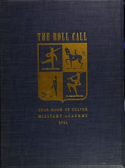 Page 1, 1941 Edition, Culver Military Academy - Roll Call Yearbook (Culver, IN) online yearbook collection