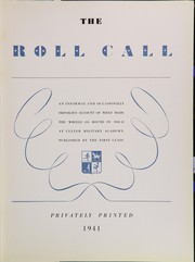 Page 7, 1941 Edition, Culver Military Academy - Roll Call Yearbook (Culver, IN) online yearbook collection