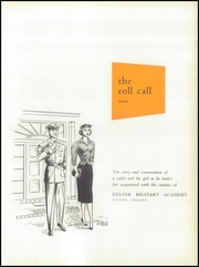 Page 5, 1953 Edition, Culver Military Academy - Roll Call Yearbook (Culver, IN) online yearbook collection