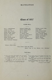 Page 10, 1917 Edition, Decatur High School - Ravelings Yearbook (Decatur, IN) online yearbook collection