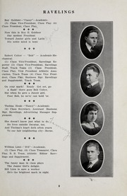 Page 11, 1917 Edition, Decatur High School - Ravelings Yearbook (Decatur, IN) online yearbook collection
