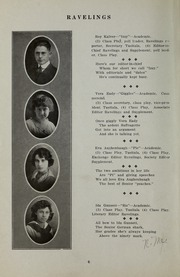 Page 12, 1917 Edition, Decatur High School - Ravelings Yearbook (Decatur, IN) online yearbook collection