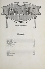 Page 9, 1917 Edition, Decatur High School - Ravelings Yearbook (Decatur, IN) online yearbook collection