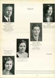 Page 16, 1935 Edition, Decatur High School - Ravelings Yearbook (Decatur, IN) online yearbook collection