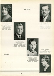 Page 17, 1935 Edition, Decatur High School - Ravelings Yearbook (Decatur, IN) online yearbook collection