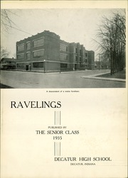 Page 5, 1935 Edition, Decatur High School - Ravelings Yearbook (Decatur, IN) online yearbook collection