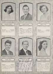 Page 14, 1954 Edition, Onteora High School - Tomahawk Yearbook (Boiceville, NY) online yearbook collection