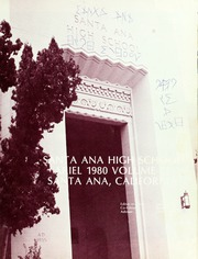 Page 5, 1980 Edition, Santa Ana High School - Ariel Yearbook (Santa Ana, CA) online yearbook collection