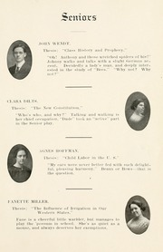 Page 15, 1912 Edition, Winamac High School - Totem Yearbook (Winamac, IN) online yearbook collection