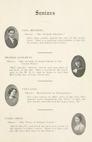 Page 17, 1912 Edition, Winamac High School - Totem Yearbook (Winamac, IN) online yearbook collection