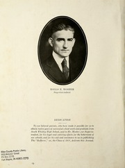 Page 10, 1921 Edition, South Whitley High School - Reflector Yearbook (South Whitley, IN) online yearbook collection