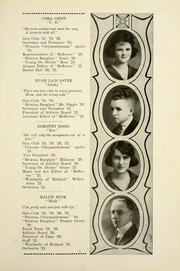 Page 17, 1921 Edition, South Whitley High School - Reflector Yearbook (South Whitley, IN) online yearbook collection