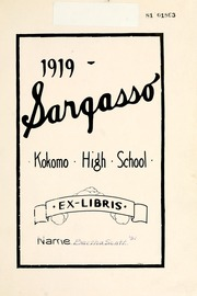 Page 9, 1919 Edition, Kokomo High School - Sargasso Yearbook (Kokomo, IN) online yearbook collection
