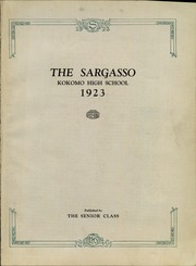 Page 7, 1923 Edition, Kokomo High School - Sargasso Yearbook (Kokomo, IN) online yearbook collection