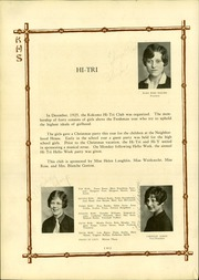 Page 72, 1928 Edition, Kokomo High School - Sargasso Yearbook (Kokomo, IN) online yearbook collection