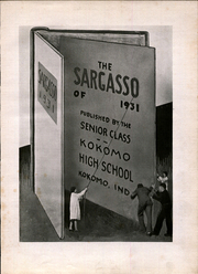 Page 7, 1931 Edition, Kokomo High School - Sargasso Yearbook (Kokomo, IN) online yearbook collection