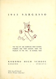 Page 5, 1943 Edition, Kokomo High School - Sargasso Yearbook (Kokomo, IN) online yearbook collection