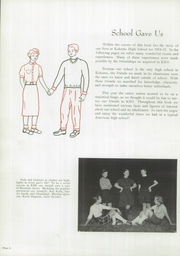 Page 10, 1955 Edition, Kokomo High School - Sargasso Yearbook (Kokomo, IN) online yearbook collection