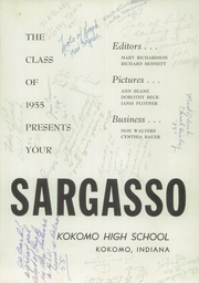 Page 5, 1955 Edition, Kokomo High School - Sargasso Yearbook (Kokomo, IN) online yearbook collection