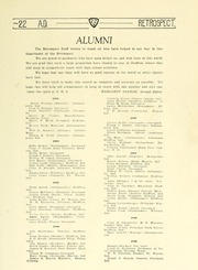 Page 105, 1922 Edition, Bluffton High School - Retrospect Yearbook (Bluffton, IN) online yearbook collection