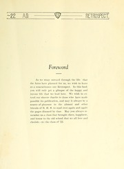 Page 13, 1922 Edition, Bluffton High School - Retrospect Yearbook (Bluffton, IN) online yearbook collection