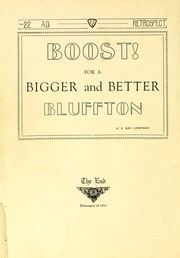 Page 152, 1922 Edition, Bluffton High School - Retrospect Yearbook (Bluffton, IN) online yearbook collection
