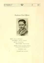 Page 54, 1922 Edition, Bluffton High School - Retrospect Yearbook (Bluffton, IN) online yearbook collection
