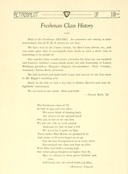 Page 56, 1922 Edition, Bluffton High School - Retrospect Yearbook (Bluffton, IN) online yearbook collection