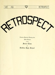 Page 9, 1922 Edition, Bluffton High School - Retrospect Yearbook (Bluffton, IN) online yearbook collection