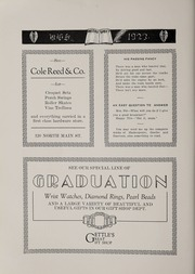 Page 138, 1923 Edition, Bluffton High School - Retrospect Yearbook (Bluffton, IN) online yearbook collection