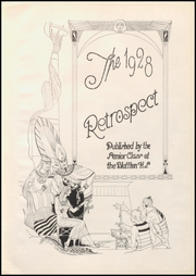 Page 7, 1928 Edition, Bluffton High School - Retrospect Yearbook (Bluffton, IN) online yearbook collection