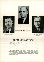 Page 12, 1939 Edition, Bluffton High School - Retrospect Yearbook (Bluffton, IN) online yearbook collection