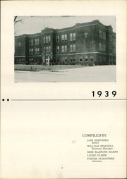 Page 7, 1939 Edition, Bluffton High School - Retrospect Yearbook (Bluffton, IN) online yearbook collection