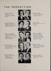 Page 17, 1940 Edition, Bluffton High School - Retrospect Yearbook (Bluffton, IN) online yearbook collection