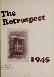 Page 5, 1945 Edition, Bluffton High School - Retrospect Yearbook (Bluffton, IN) online yearbook collection