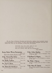 Page 6, 1945 Edition, Bluffton High School - Retrospect Yearbook (Bluffton, IN) online yearbook collection