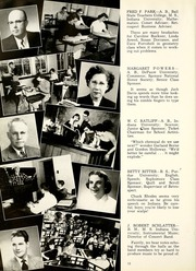Page 16, 1954 Edition, Bluffton High School - Retrospect Yearbook (Bluffton, IN) online yearbook collection