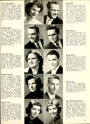 Page 23, 1954 Edition, Bluffton High School - Retrospect Yearbook (Bluffton, IN) online yearbook collection
