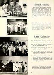 Page 28, 1954 Edition, Bluffton High School - Retrospect Yearbook (Bluffton, IN) online yearbook collection