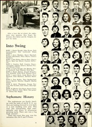 Page 35, 1954 Edition, Bluffton High School - Retrospect Yearbook (Bluffton, IN) online yearbook collection