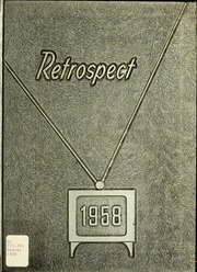 1958 Edition, Bluffton High School - Retrospect Yearbook (Bluffton, IN)