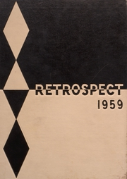 1959 Edition, Bluffton High School - Retrospect Yearbook (Bluffton, IN)
