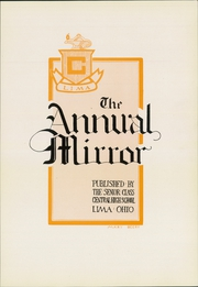 Page 9, 1924 Edition, Lima Central High School - Annual Mirror Yearbook (Lima, OH) online yearbook collection