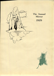 Page 7, 1929 Edition, Lima Central High School - Annual Mirror Yearbook (Lima, OH) online yearbook collection