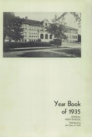 Page 7, 1935 Edition, Lima Central High School - Annual Mirror Yearbook (Lima, OH) online yearbook collection