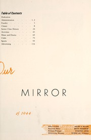 Page 11, 1944 Edition, Lima Central High School - Annual Mirror Yearbook (Lima, OH) online yearbook collection