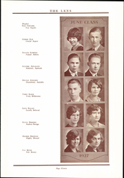 Page 17, 1927 Edition, Washington High School - Lens Yearbook (Portland, OR) online yearbook collection