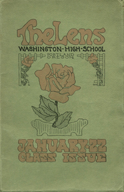 Washington High School - Lens Yearbook (Portland, OR) online yearbook collection, 1928 Edition, Page 1