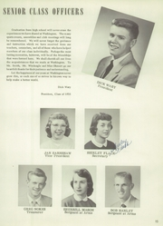 Page 17, 1955 Edition, Washington High School - Lens Yearbook (Portland, OR) online yearbook collection