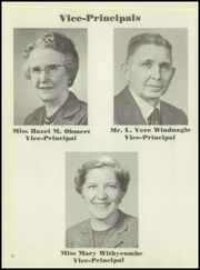 Page 16, 1956 Edition, Washington High School - Lens Yearbook (Portland, OR) online yearbook collection